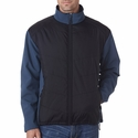 Adult Soft Shell Jacket with Quilted Front & Back: (8295)