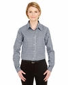 Ladies' Medium-Check Woven: (8385L)