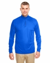 Men's Cool & Dry Sport Performance Interlock 1/4-Zip Pullover: (8424)