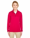 Ladies' Cool & Dry Sport Performance Interlock 1/4-Zip Pullover: (8424L)