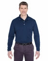 Adult Cool & Dry Long-Sleeve Stain-Release Performance Polo: (8445LS)