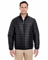 Adult Quilted Puffy Jacket: (8469)