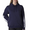Adult Cool & Dry Box Jacquard 1/4-Zip Micro-Fleece: (8490)