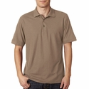 Men's Basic Blended Piqué Polo: (8560)