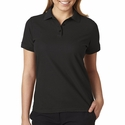 Ladies' Basic Blended Piqué Polo: (8560L)