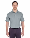 Men's Cool & Dry 8 Star Elite Performance Interlock Polo: (8610)
