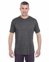 Men's Cool & Dry Heather Performance Tee: (8619)