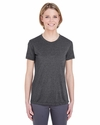 Ladies' Cool & Dry Heather Performance Tee: (8619L)