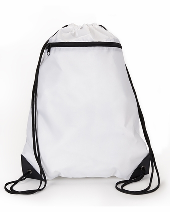 8888 UltraClub Zippered Drawstring Sport Pack