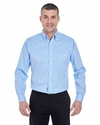 Men's Yarn-Dyed Micro-Check Woven: (8995)