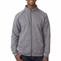 Premium Cotton® 9 oz. Fleece Full-Zip Jacket: (G929)