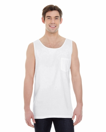 Adult Tank Top with Pocket: (9330)