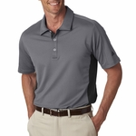 puremotion® Colorblock 3-Stripes Polo: (A128)