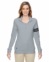 Ladies' climalite® 3-Stripes Full-Zip Jacket: (A191)