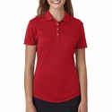 Ladies' Short-Sleeve Solid Polo: (A193)