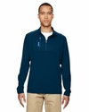 puremotion® Mixed Media Quarter-Zip: (A195)