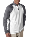Men's ClimaWarm 3-Stripes Color Block 1/4-Zip Training Top: (A276)