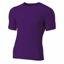 A4 Men's Compression T-Shirt: (N3130)