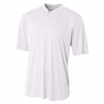 A4 Men's Henley: (N3143)