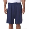 A4 Men's Shorts: 100% Polyester Interlock Cooling Performance 9-Inch Inseam (N5283)