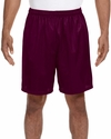 A4 Men's Shorts: 100% Polyester Lined Tricot Mesh 7-Inch Inseam (N5293)