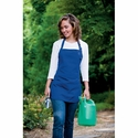 Adams Aprons  Apron: Three Pocket Mid-Length Easy Care (AP24)