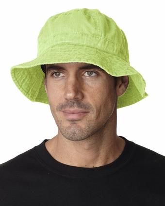 Adams Bucket Hat: 100% Cotton Vacationer (VA101)
