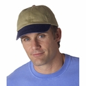 Adams Cap: 100% Cotton Two-Tone Khaki Optimum (LP102)