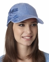 Adams Headwear Cap: 100% Cotton Pigment Dyed w/ Lighthouse Coast Pattern (LPLC1)
