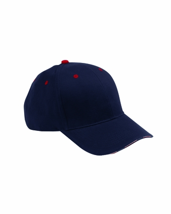 Adams Headwear Cap: Patriot Stars and Stripes Sandwich  (PA102)