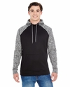 Adult Adult Colorblock Cosmic Pullover Hood