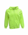 Adult Full-Zip Fleece Hood:B501