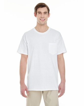 Adult Heavy Cotton 5.3 oz. Pocket T-Shirt