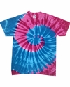 Adult Island Collection Tie-Dyed Tee: (CD1180)