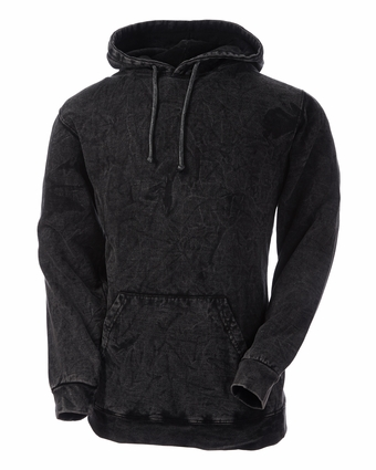 Adult Mineral Tie-Dyed Pullover Hoodie: (CD8300)