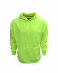 Adult Performance Pullover Hood with Bonded Polar Fleece:B309