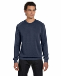 alternative Men's Sweatshirt: 6.3 oz. Long-Sleeve Basic Fleece Crew (AA9575)