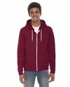American Apparel Men's Sweatshirt: 7 oz. Flex Fleece Hoodie (F497)