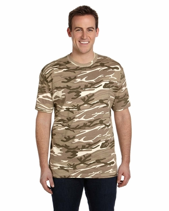 Anvil Men's T-Shirt: 100% Cotton Camouflage (939)