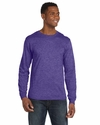 Anvil Men's T-Shirt: 100% Cotton Ringspun Long-Sleeve Fashion-Fit (949)