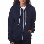 Anvil Women's Sweatshirt: Fashion Full Zip w/ Hood (71600FL)