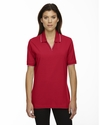 Ladies' Cotton Jersey Polo: (75009)