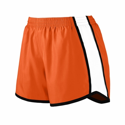 Augusta Sportswear Girls Shorts: 100% Polyester Colorblock Pulse (1266)