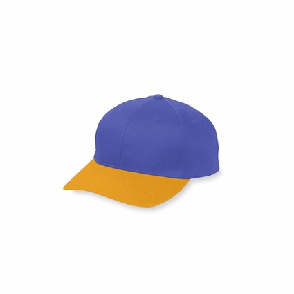 Augusta Sportswear Men's Cap: 100% Cotton Twill 6-Panel Low Profile (6204)