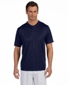 Augusta Sportswear Men's Jersey: 100% Polyester 2-Button with Moisture Wicking (426)