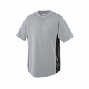 Augusta Sportswear Men's Jersey: 100% Polyester Mesh Wicking Colorblock 2-Button (538)