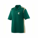 Augusta Sportswear Men's Polo Shirt: 100% Polyester Closed-Hole Mesh Colorblock Game Day Sport (5055)