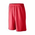 Augusta Sportswear Men's Shorts: 100% Polyester Wicking Knit Long Length Mesh 9-Inch Athletic (802)