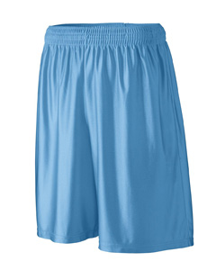 Augusta Sportswear Men's Shorts: 100% Polyester Dazzle Longer Length 9-Inch with Inside Drawcord (926)