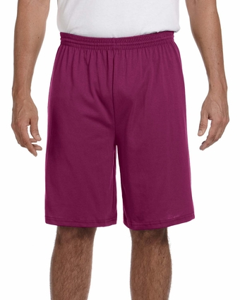 Augusta Sportswear Men's Shorts: 50/50 Jersey with Drawcord (915)